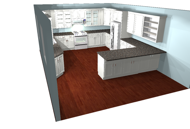 ... Making Color Changes To The Cabinets, Walls And Ceilings, Flooring, And  Countertops Is Just A Couple Clicks. We Took The Design Below And Did Just  That ...